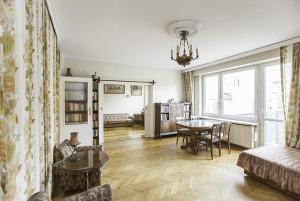 Mieszkanie Śródmieście Tamka Salon